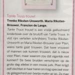 Recensie Tante Truus trouwt in <em>Zij aan zij</em> nr 5 2017